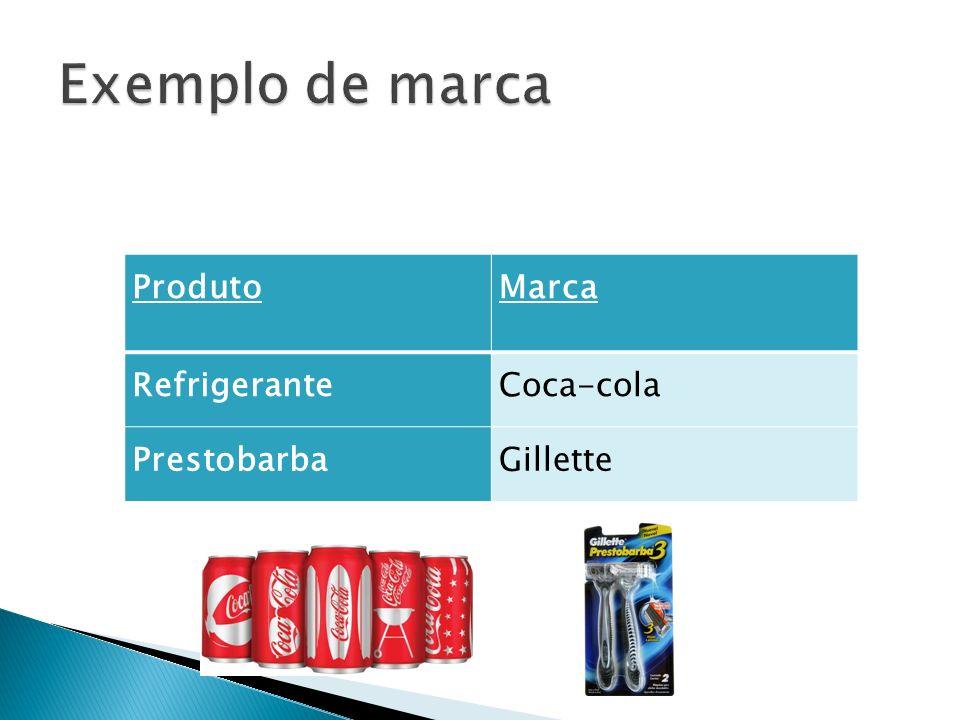 ProdutoMarca RefrigeranteCoca-cola PrestobarbaGillette
