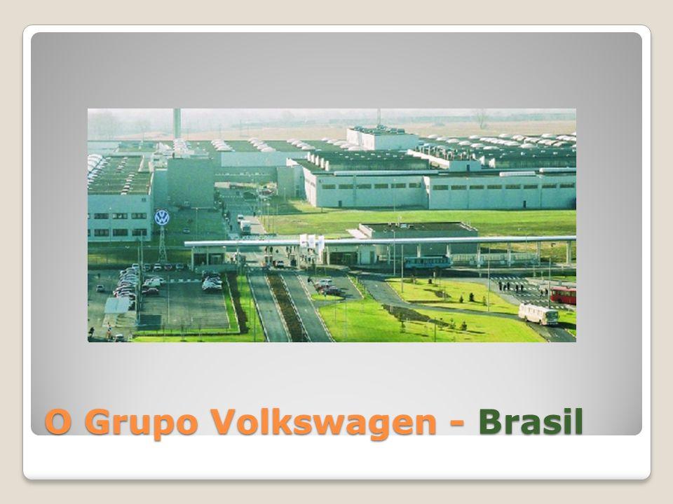 Contexto Histórico O Grupo Volkswagen, com base em Wolfsburg, Alemanha, é uma das empresas líderes mundiais em produção de veículos e a maior produtora de carros da Europa.