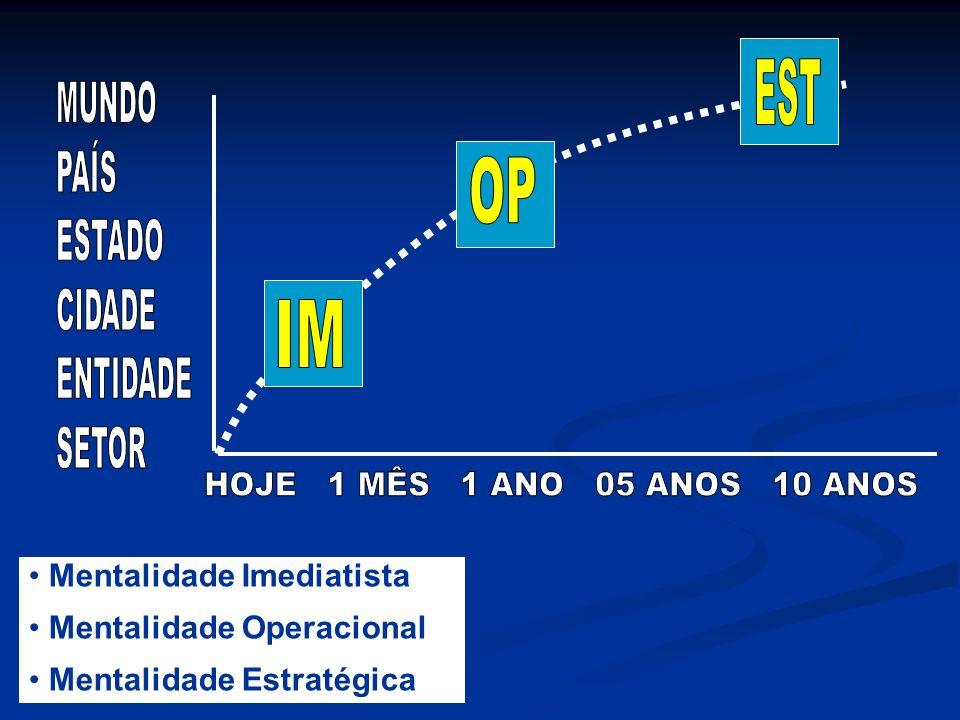 EXEMPLO DE VISÃO Ser a melhor empresa do setor elétrico no Brasil até 2006, mantendo o equilíbrio entre os interesses da sociedade e dos acionistas.