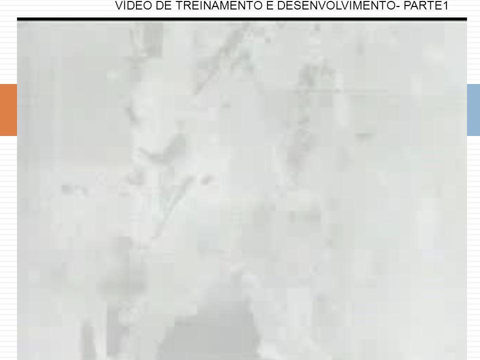VÍDEO DE TREINAMENTO E DESENVOLVIMENTO- PARTE1
