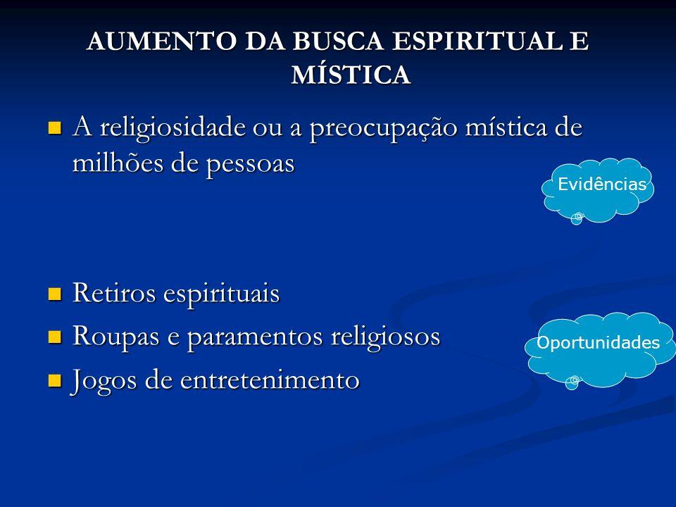 A religiosidade ou a preocupação mística de milhões de pessoas A religiosidade ou a preocupação mística de milhões de pessoas Retiros espirituais Reti