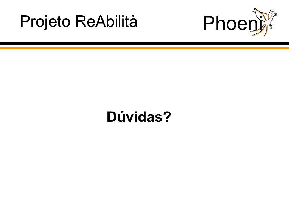 Phoeni Projeto ReAbilità Dúvidas