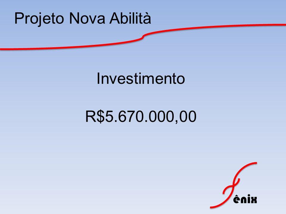 ênix Projeto Nova Abilità Investimento R$5.670.000,00