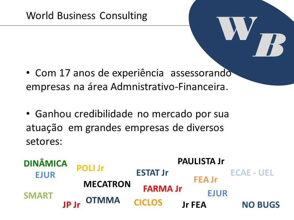 Com 17 anos de experiência assessorando empresas na área Admnistrativo-Financeira. Ganhou credibilidade no mercado por sua atuação em grandes empresas