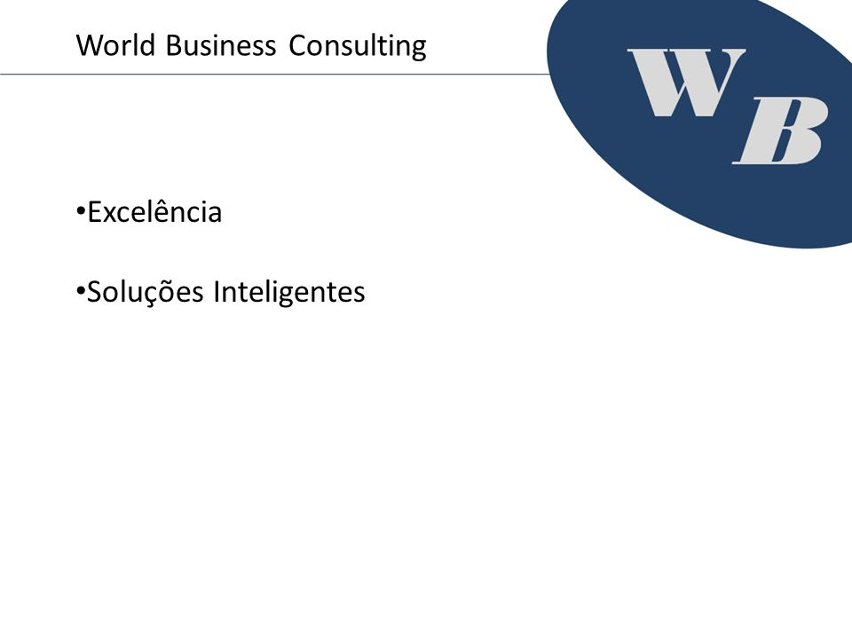 Excelência Soluções Inteligentes World Business Consulting