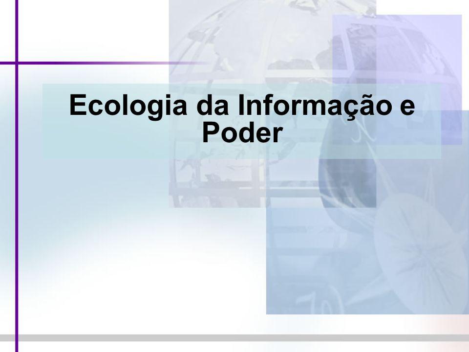 Ecologia da Informação e Poder