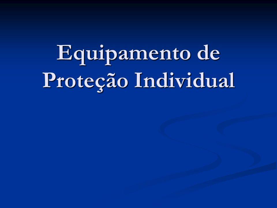 NR 6 – Equipamento de Proteção Individual De acordo com a NR-6 da Portaria nº 3214 de 8 de junho de 1978, do Ministério do Trabalho e Emprego, considera-se Equipamento de Proteção Individual – EPI: De acordo com a NR-6 da Portaria nº 3214 de 8 de junho de 1978, do Ministério do Trabalho e Emprego, considera-se Equipamento de Proteção Individual – EPI: TODO DISPOSITIVO DE USO INDIVIDUAL DESTINADO A PROTEGER A SAÚDE E A INTEGRIDADE FÍSICA DO TRABALHADOR.