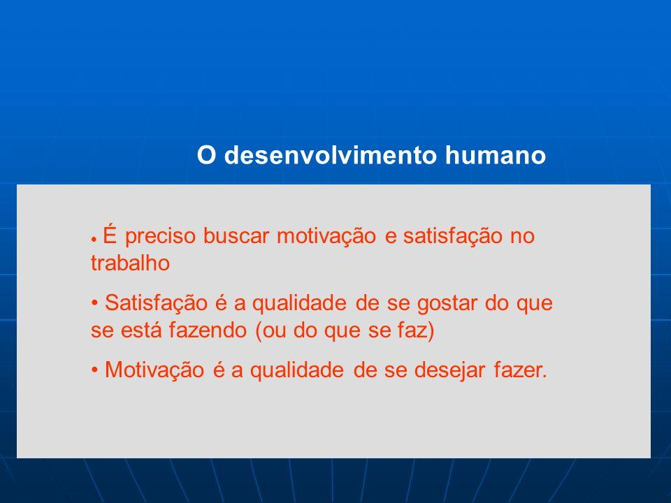 c O desenvolvimento humano A política pessoal na QT deve oferecer Alternativas de progresso profissional Enfoque de parceria com colaboradores Remuner