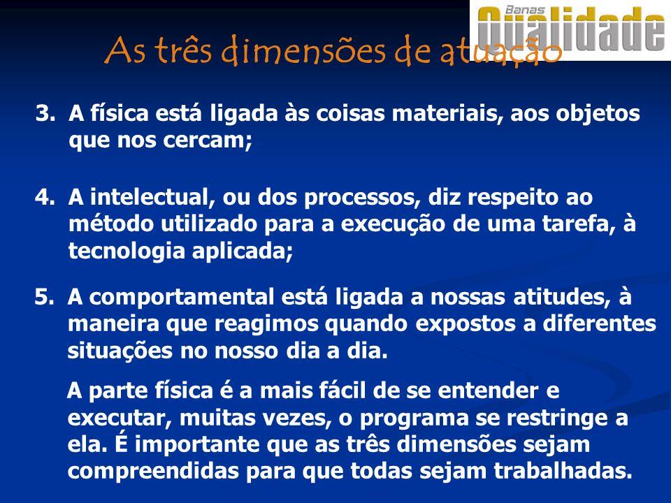 3.A física está ligada às coisas materiais, aos objetos que nos cercam; 4.A intelectual, ou dos processos, diz respeito ao método utilizado para a exe
