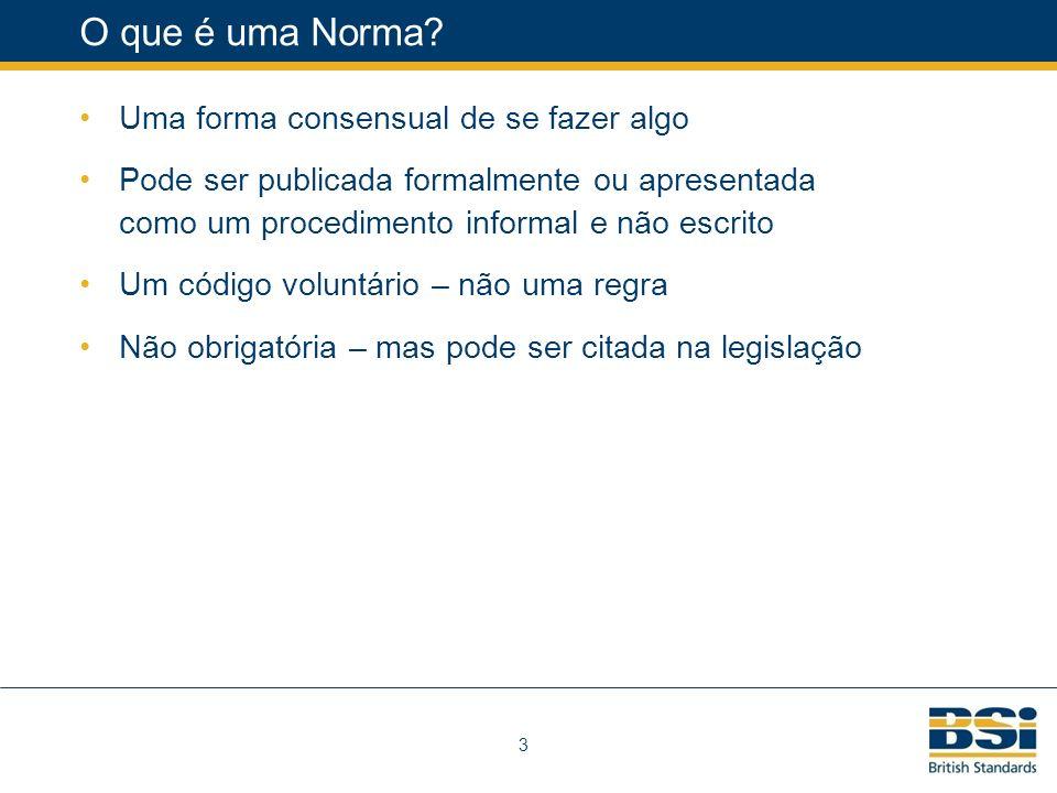 3 O que é uma Norma.