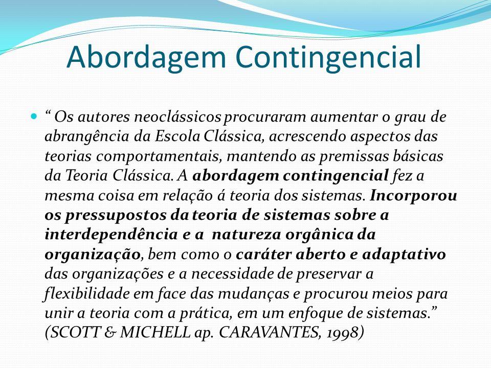 Os autores neoclássicos procuraram aumentar o grau de abrangência da Escola Clássica, acrescendo aspectos das teorias comportamentais, mantendo as pre