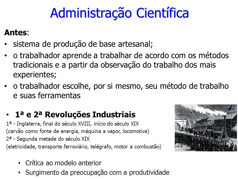 1ª e 2ª Revoluções Industriais 1ª - Inglaterra, final do século XVIII, início do século XIX (carvão como fonte de energia, máquina a vapor, locomotiva