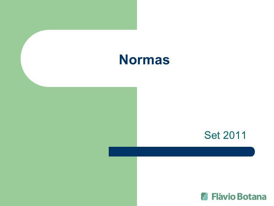 Normas Set 2011
