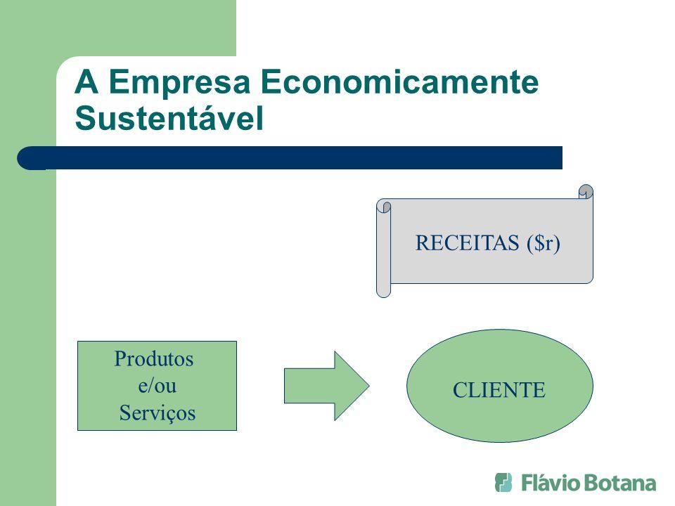 A Empresa Economicamente Sustentável Produtos e/ou Serviços RECEITAS ($r) CLIENTE