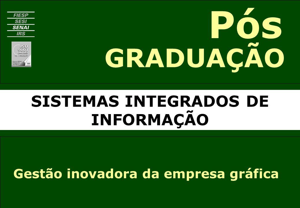 SISTEMAS INTEGRADOS DE INFORMAÇÃO GRADUAÇÃO Pós Gestão inovadora da empresa gráfica