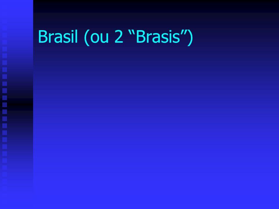 Brasil (ou 2 Brasis)