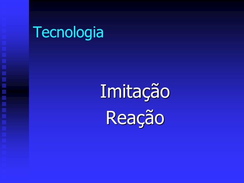 Tecnologia ImitaçãoReação