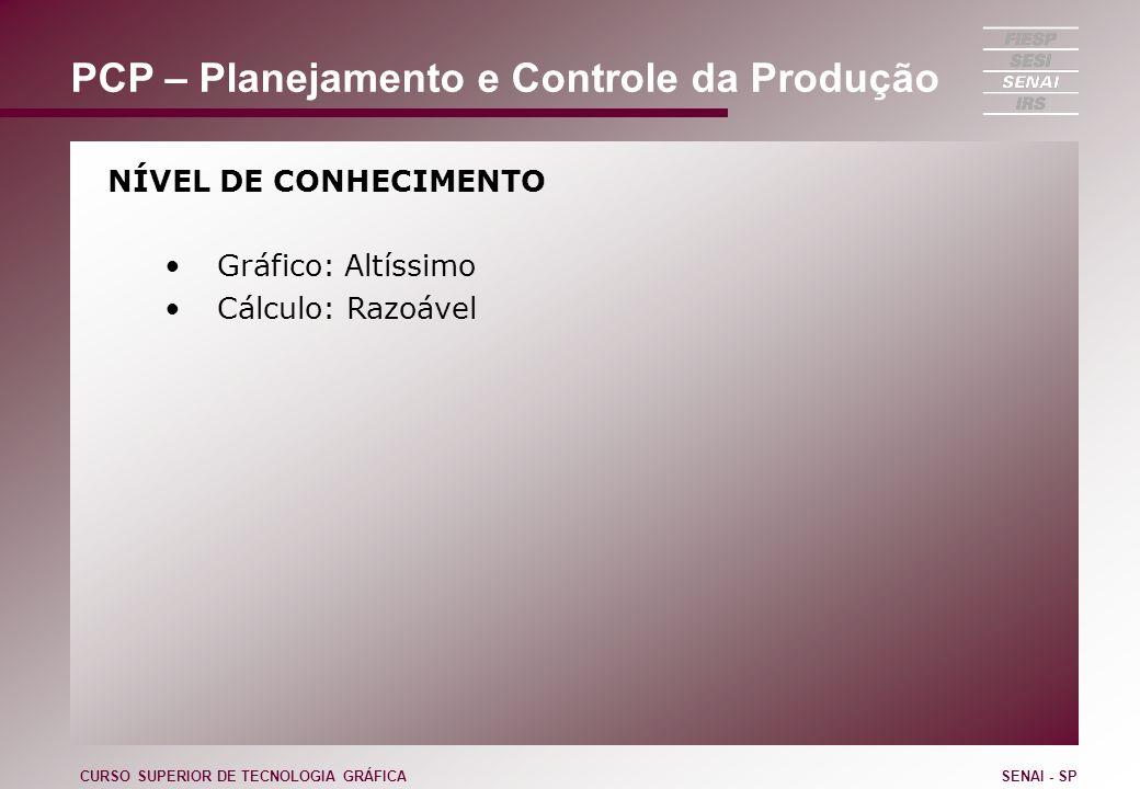 CURSO SUPERIOR DE TECNOLOGIA GRÁFICASENAI - SP