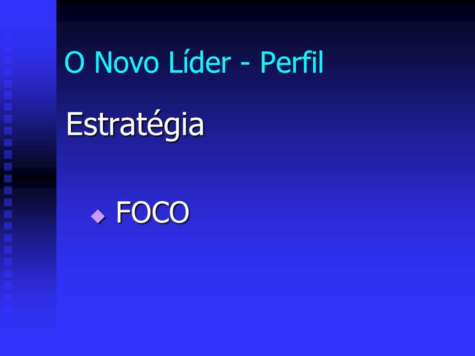 O Novo Líder - Perfil Estratégia FOCO FOCO