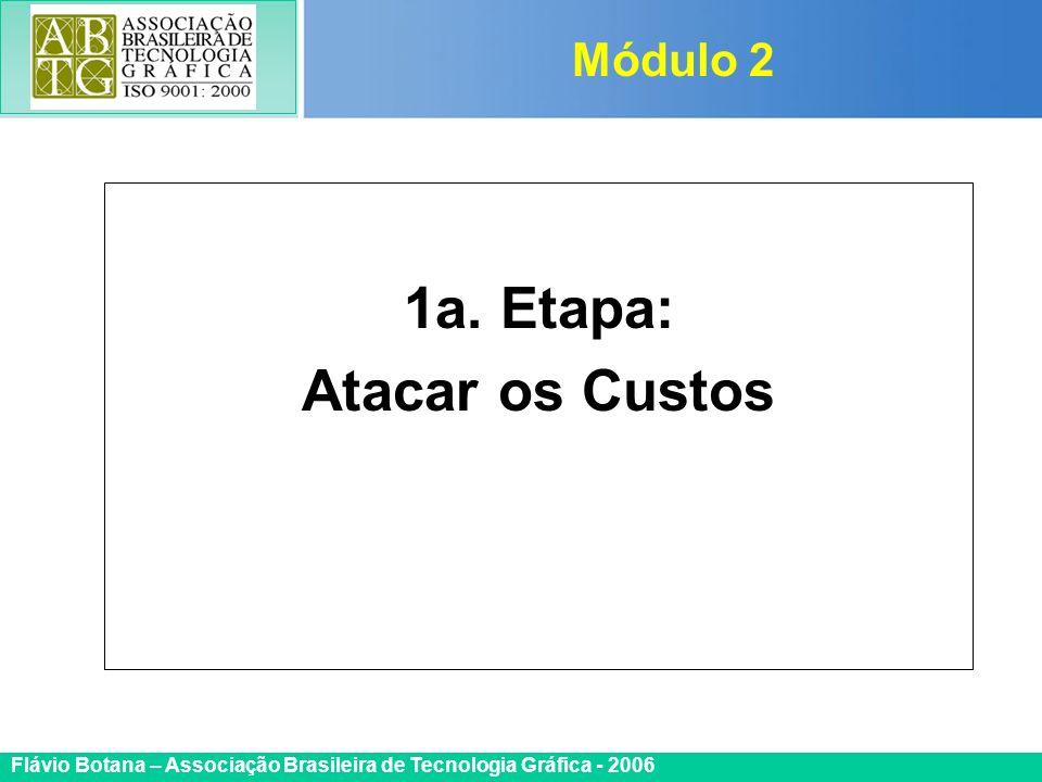 Certificada ISO 9002 Flávio Botana – Associação Brasileira de Tecnologia Gráfica - 2006 1a. Etapa: Atacar os Custos Módulo 2