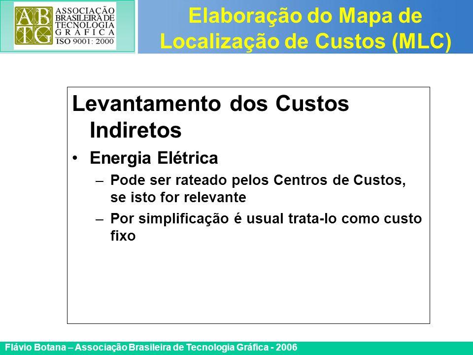 Certificada ISO 9002 Flávio Botana – Associação Brasileira de Tecnologia Gráfica - 2006 Levantamento dos Custos Indiretos Energia Elétrica –Pode ser r