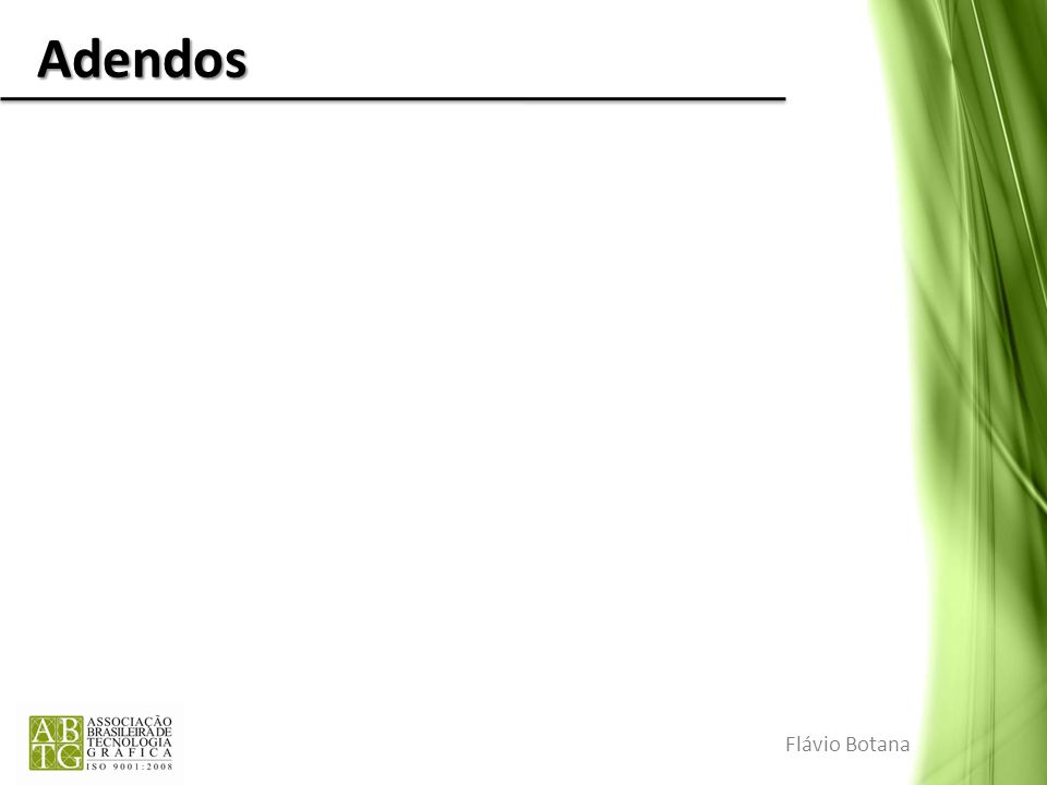Adendos Flávio Botana