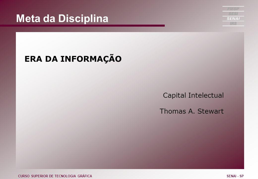 Composição da Empresa Estratégia Competências / Conhecimentos Modelo de Gestão Estrutura CURSO SUPERIOR DE TECNOLOGIA GRÁFICASENAI - SP
