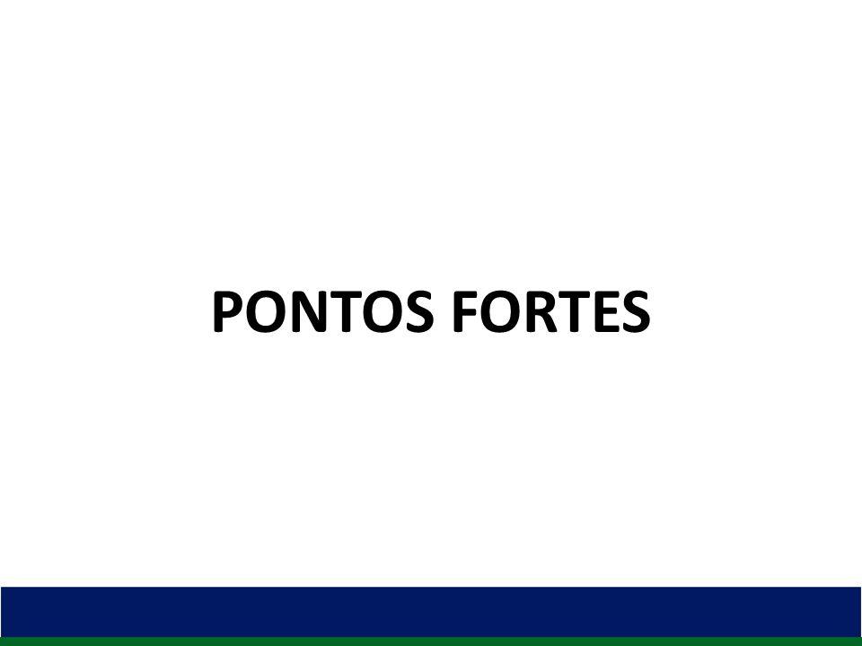 PONTOS FORTES