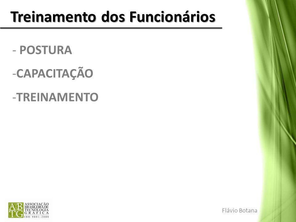 Treinamento dos Funcionários - POSTURA -CAPACITAÇÃO -TREINAMENTO Flávio Botana