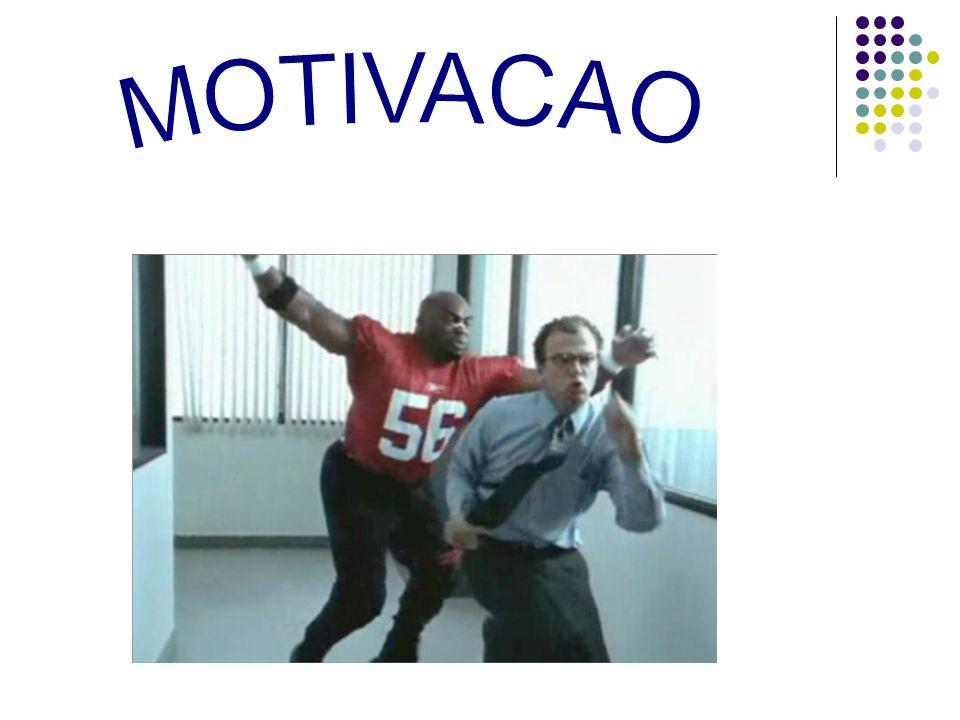MOTIVACAO Espera-se que com altos níveis de motivação, o desempenho se eleve, assim como o lucro.