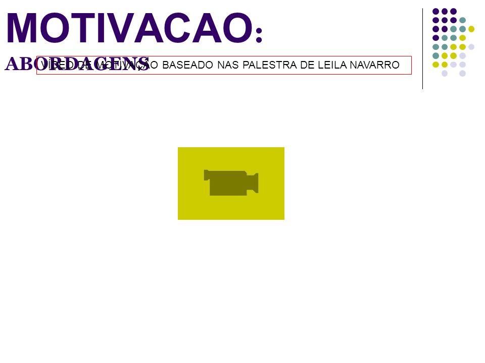 MOTIVACAO : ABORDAGENS VÍDEO DE MOTIVAÇÃO BASEADO NAS PALESTRA DE LEILA NAVARRO