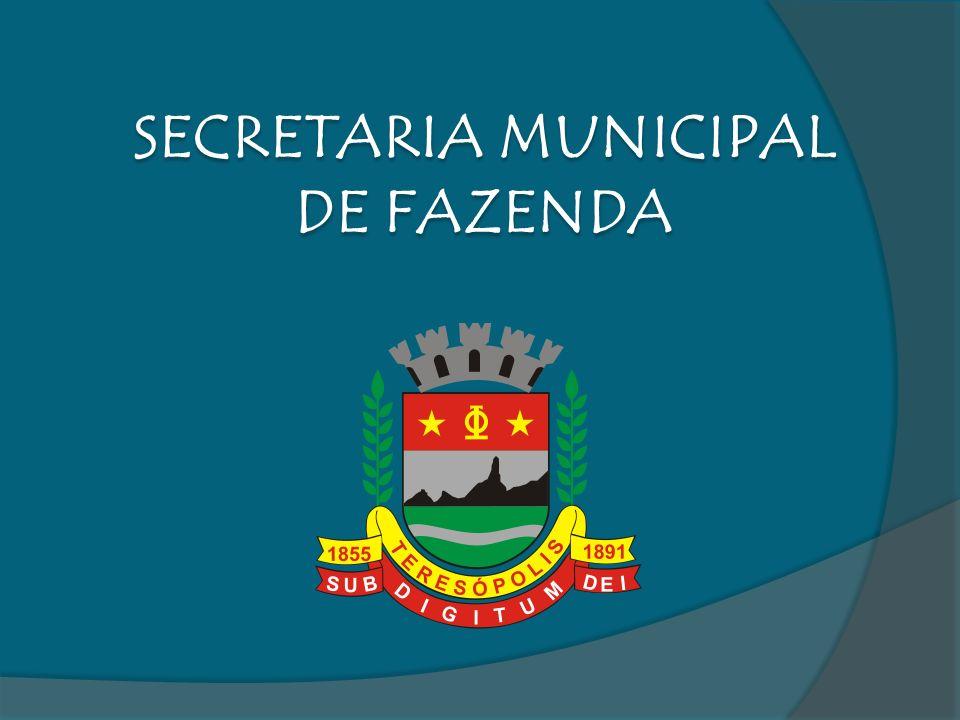 SECRETARIA MUNICIPAL DE FAZENDA