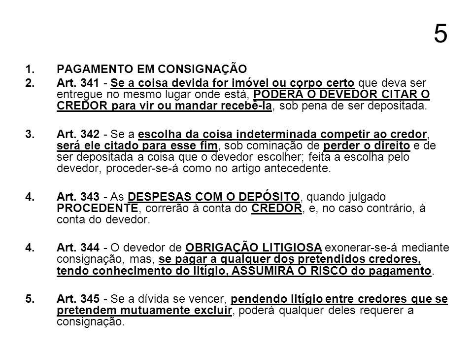 6 1.DO PAGAMENTO COM SUB-ROGAÇÃO 2.Art.