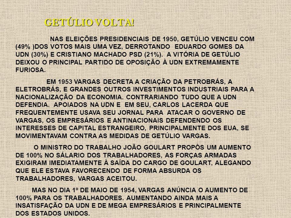 O crime da Rua Toneleros : EM AGOSTO DE 1954, OS JORNAIS NOTICIARAM UM ATENTADO CONTRA A VIDA DE CARLOS LACERDA.