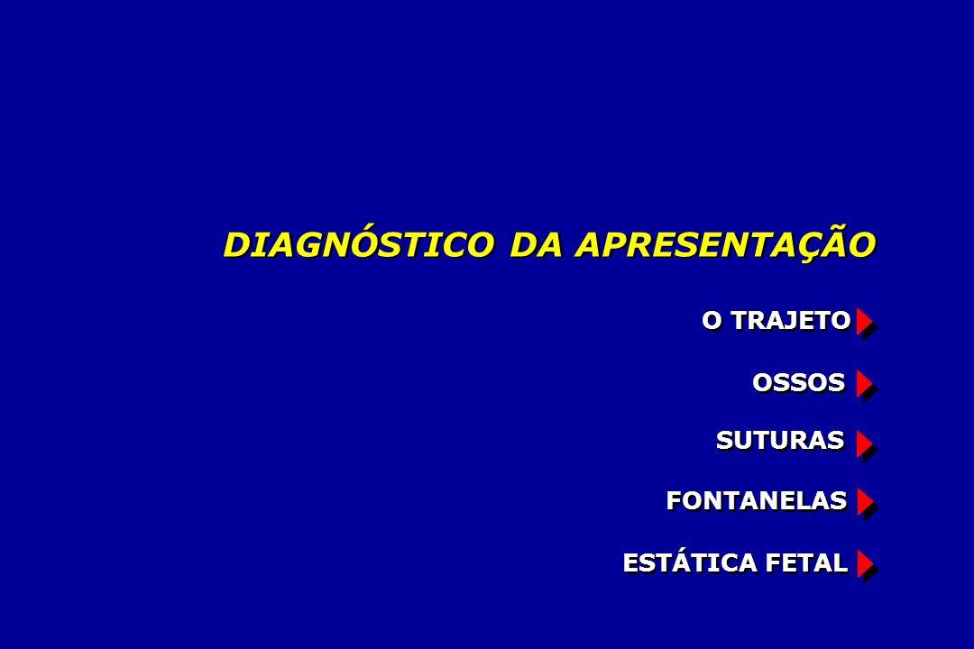 FONTANELAS ESTÁTICA FETAL OSSOS SUTURAS O TRAJETO DIAGNÓSTICO DA APRESENTAÇÃO