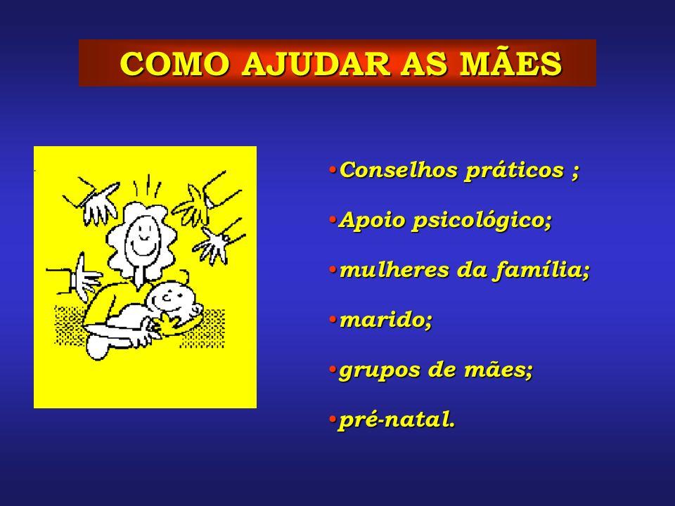 COMO AJUDAR AS MÃES Conselhos práticos ; Conselhos práticos ; Apoio psicológico; Apoio psicológico; mulheres da família; mulheres da família; marido;
