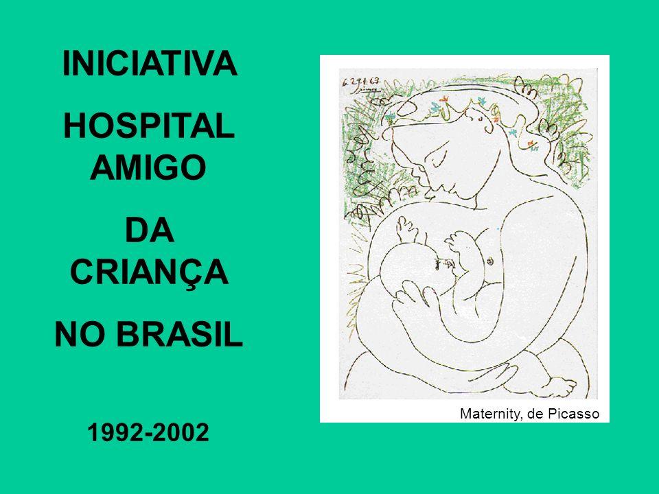 INICIATIVA HOSPITAL AMIGO DA CRIANÇA NO BRASIL 1992-2002 Maternity, de Picasso