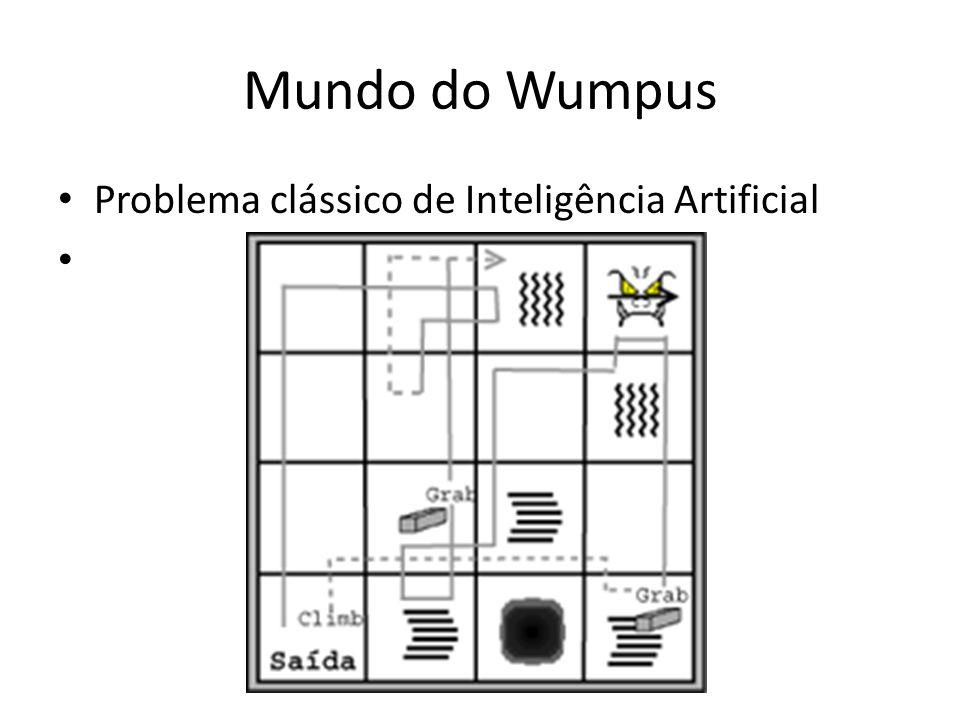 Mundo do Wumpus Problema clássico de Inteligência Artificial