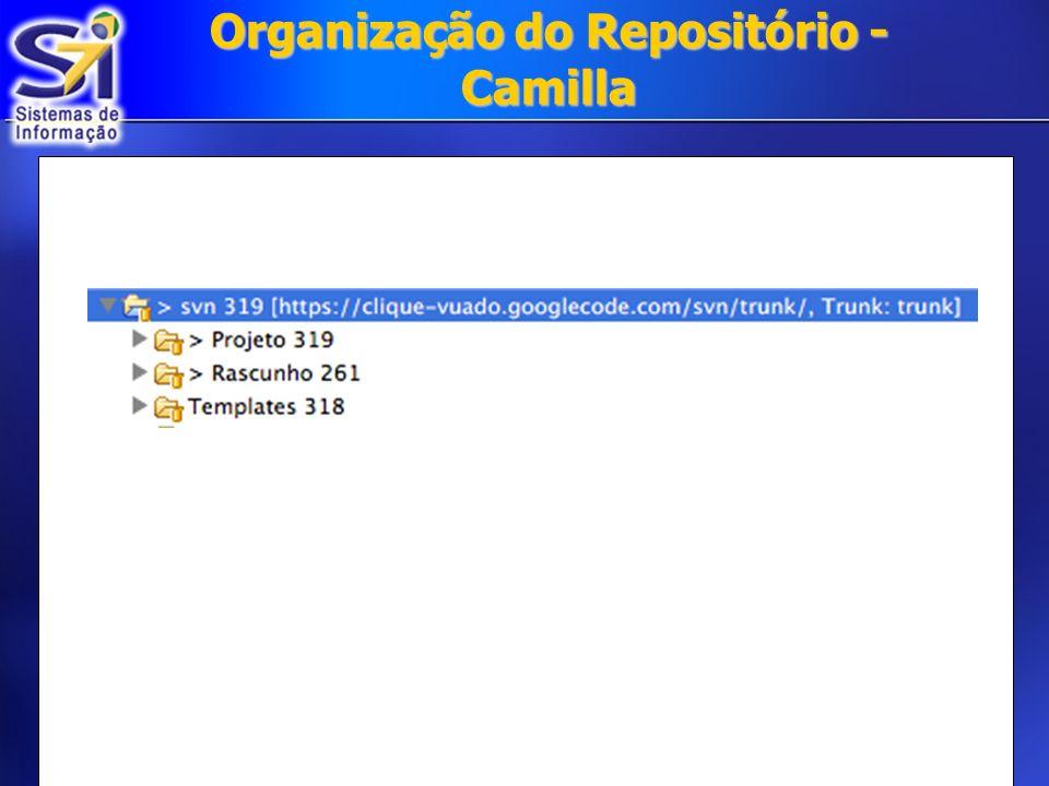 Organização do Repositório - Camilla