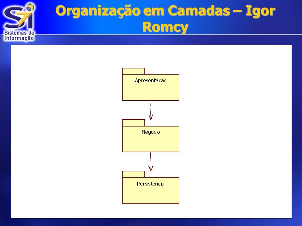 Organização em Camadas – Igor Romcy
