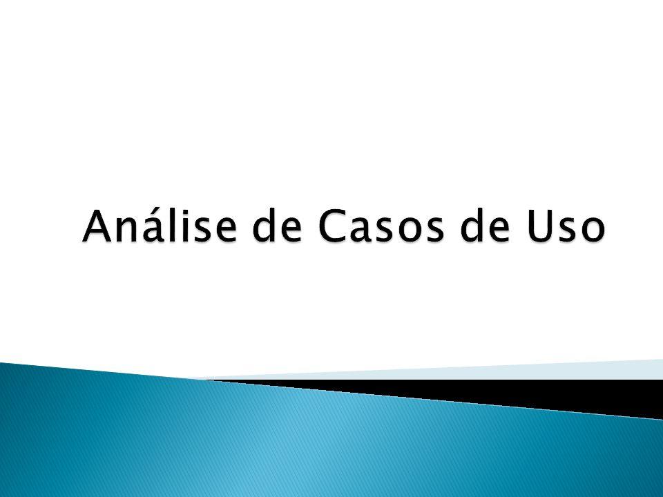 Contexto Análise Passando de casos de uso para diagramas de classes 2