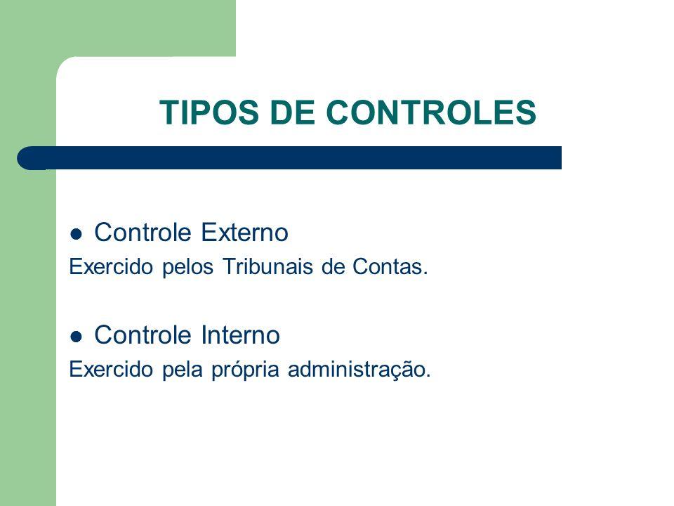 FINALIDADE E IMPORTÂNCIA DO CONTROLE INTERNO A finalidade do controle interno está prevista no art.