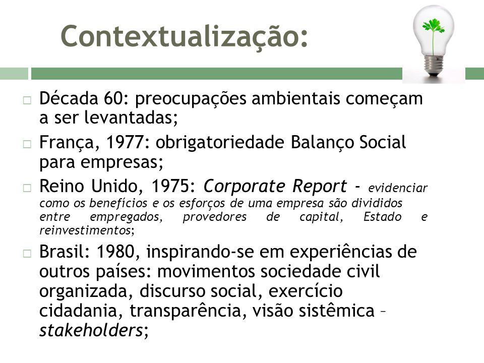 Modelo de Balanço Social: