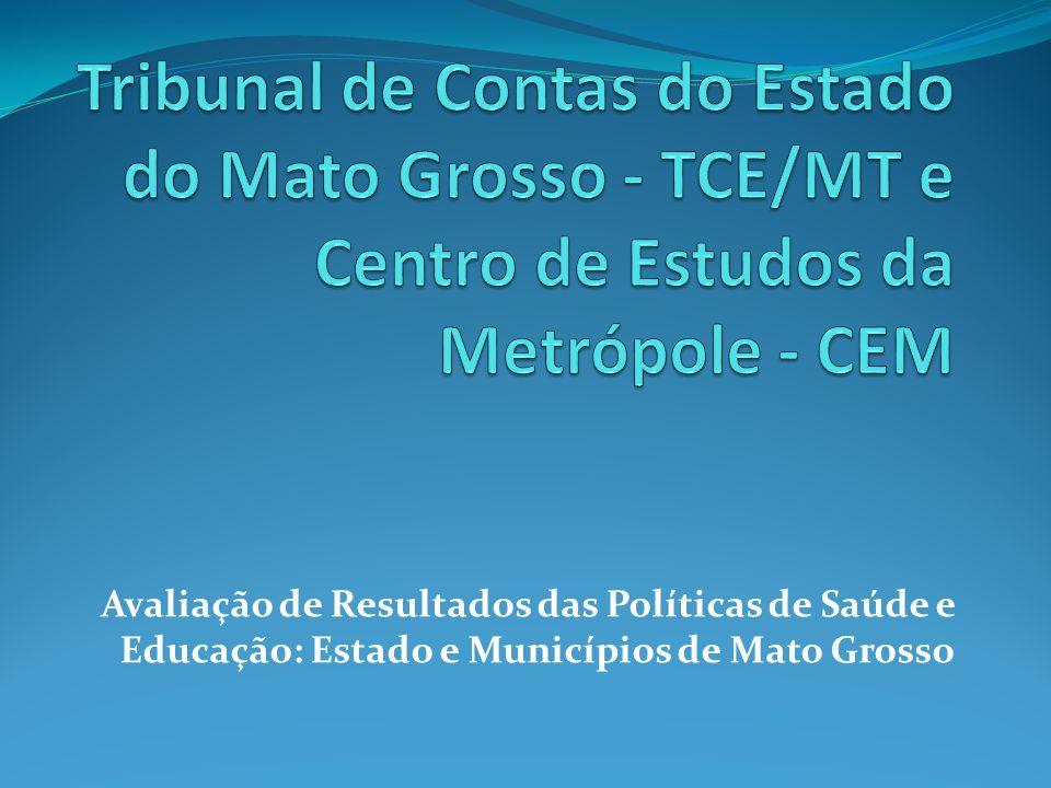 Avaliação de Resultados das Políticas de Saúde e Educação: Estado e Municípios de Mato Grosso