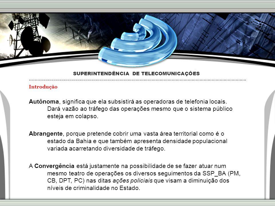 49 Projeto MRS2008 - Sistemas Principais Realizações - Estudo da Tecnologia de Telecom.