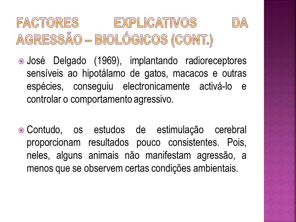 (4) Desordens mentais: A esquizofrenia pode desencadear comportamentos agressivos.