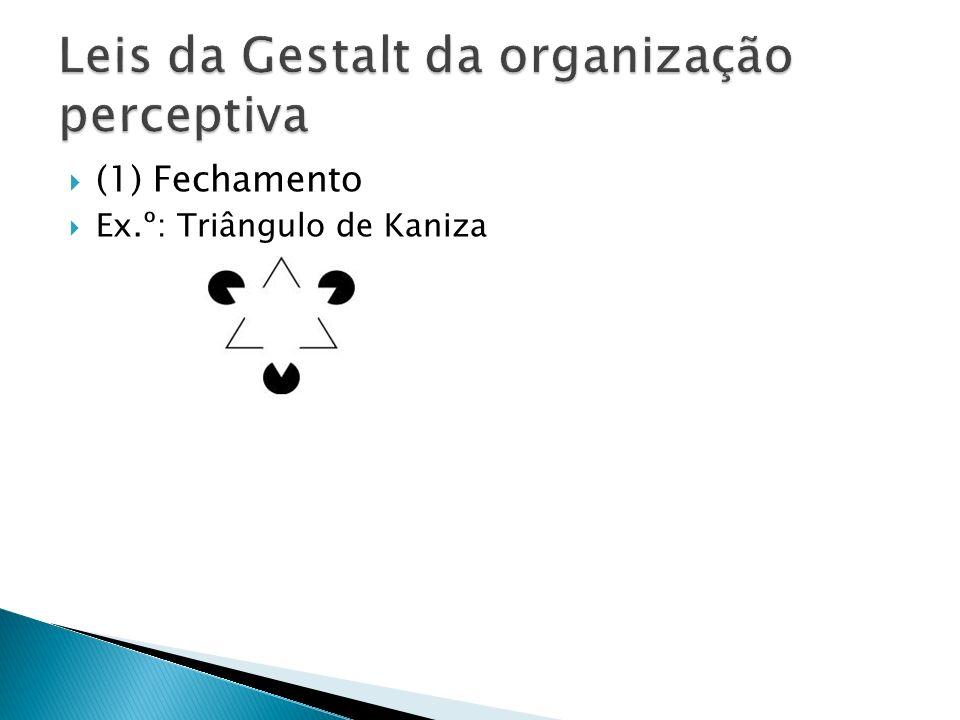 (1) Fechamento Ex.º: Triângulo de Kaniza