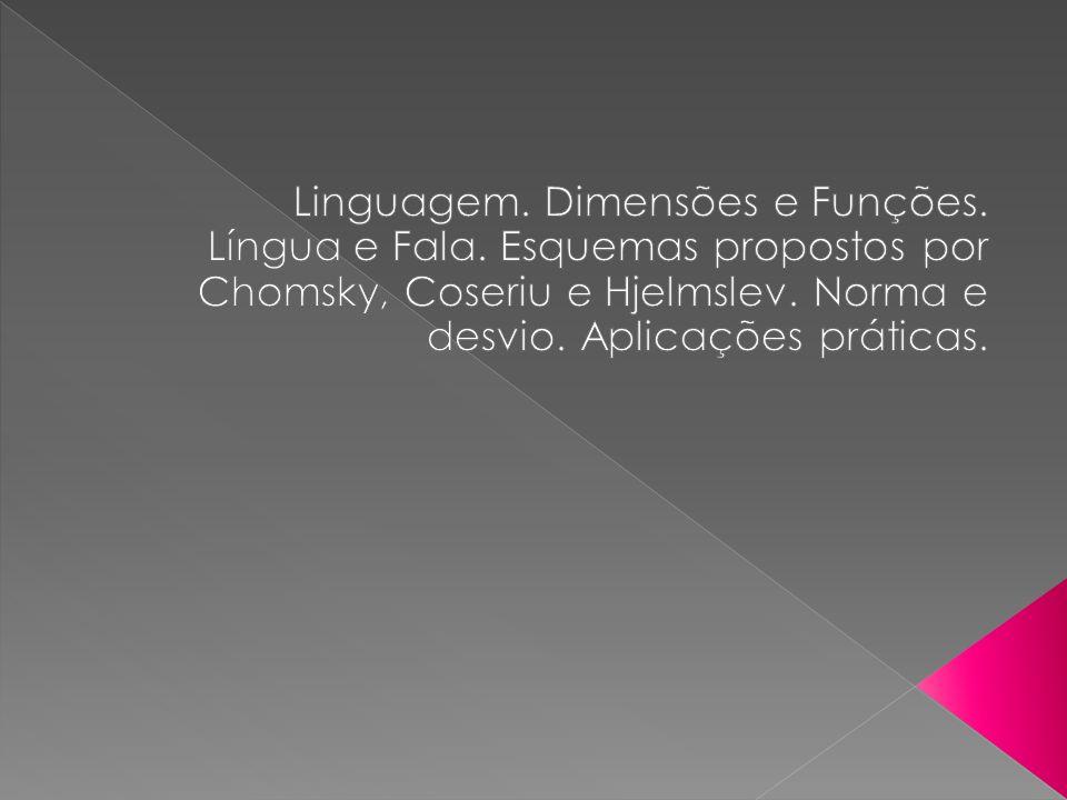 a linguagem é multiforme e heteróclita Saussure, Curso de Linguística Geral, p.