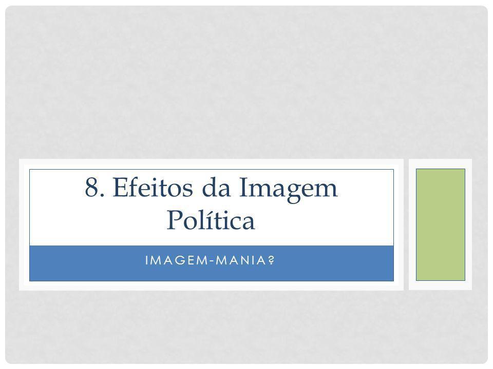IMAGEM-MANIA? 8. Efeitos da Imagem Política