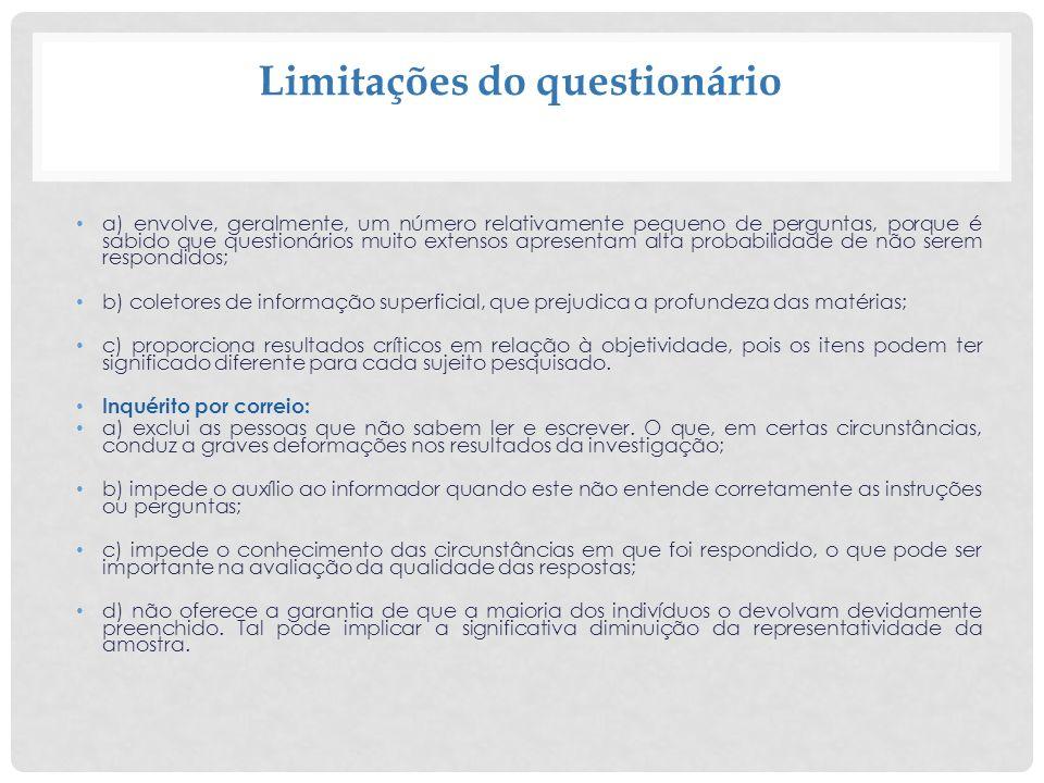 40 5) PERGUNTAS ENCADEADAS A segunda pergunta depende da resposta da primeira.